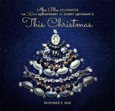 """This Christmas"" Afro Blue Single Cover Art"
