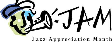 Jazz Appreciation Month Logo